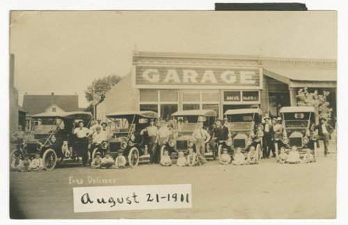 G. L. Klassen's Ford garage in Hillsboro, Kansas - Page