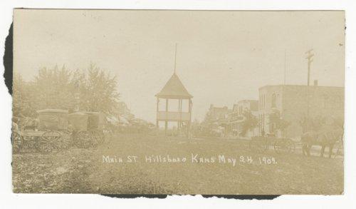 Main Street in Hillsboro, Kansas - Page