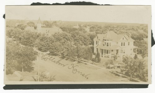 Birds-eye view of Hillsboro, Kansas - Page