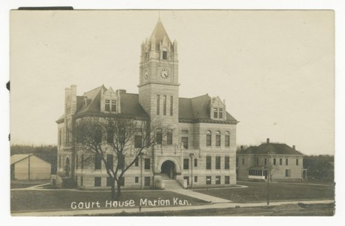Marion County courthouse in Marion, Kansas - Page