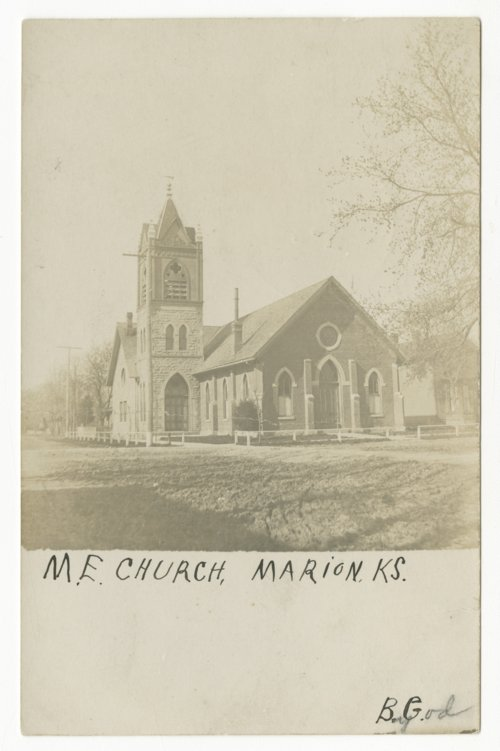 Methodist Episcopal Church in Marion, Kansas - Page