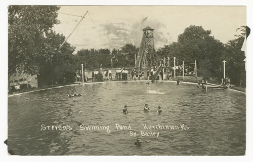 Steven's swimming pond in Hutchinson, Kansas - Page