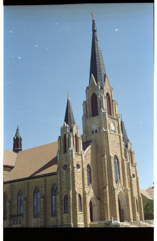 Holy Cross Catholic Church in Pfeifer, Kansas - Page