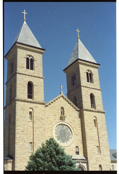 St. Fidelis Catholic Church in Victoria, Kansas - Page