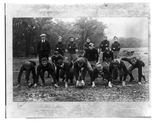 Chase County High School football team in Cottonwood Falls, Kansas - Page