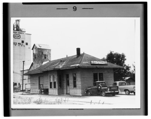 Atchison, Topeka and Santa Fe Railway Company depot, Osborne, Kansas - Page