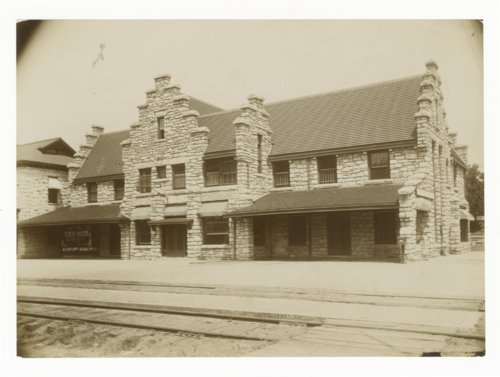 Atchison, Topeka & Santa Fe Railway Company's Fred Harvey House, Wellington, Kansas - Page