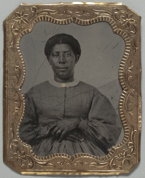 African American woman tintype - Page