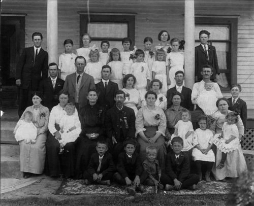 Evans-King family in Kinsley, Kansas - Page