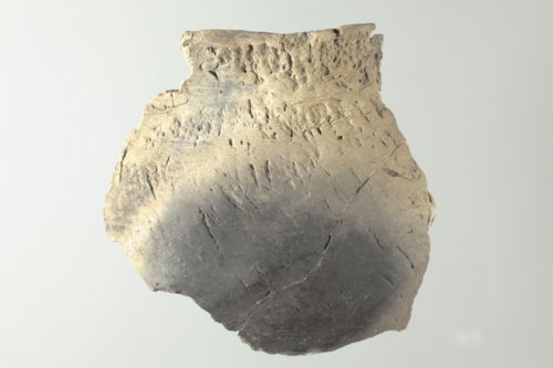 Ceramic Pot Sherd from the Minneapolis site, 14OT5 - Page