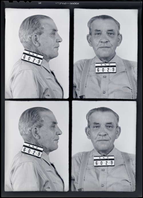 Fred Bissall, Prisoner 6029, Kansas State Penitentiary - Page