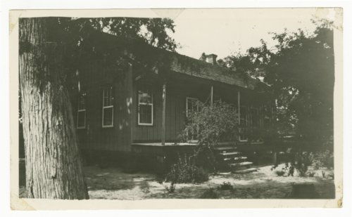 Atchison, Topeka & Santa Fe Railway Company's section house, Wood, Texas - Page