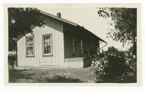 Atchison, Topeka & Santa Fe Railway Company's section house, Wolfe City, Texas - Page