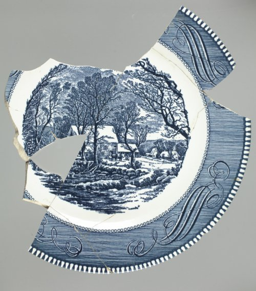 Currier and Ives Christmas Plate - Page