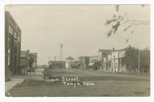 Main Street in Tampa, Kansas - Page