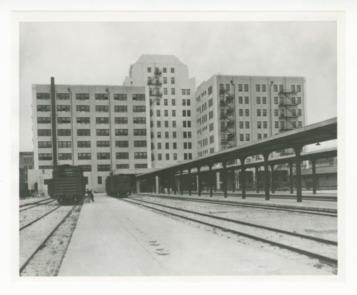 Atchison, Topeka & Santa Fe Railway Company's general office building, Galveston, Texas - Page