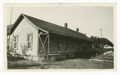 Atchison, Topeka & Santa Fe Railway Company's section house, Wylie, Texas - Page