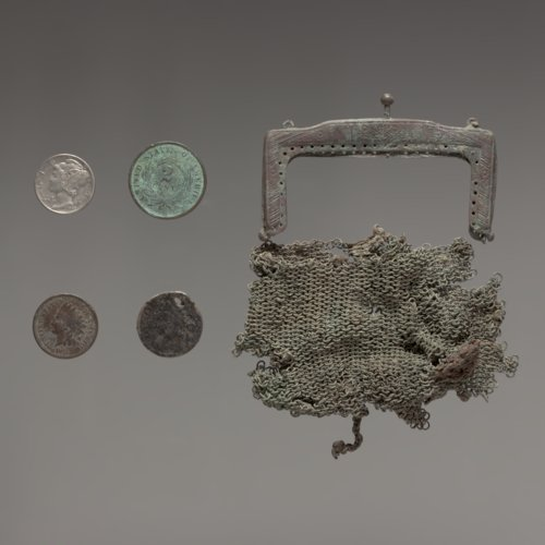 Coins and Coin Purse from the Martindale Cabin - Page
