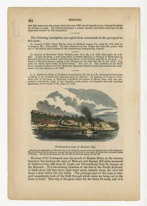 North-eastern view of Kansas City, Missouri - Page