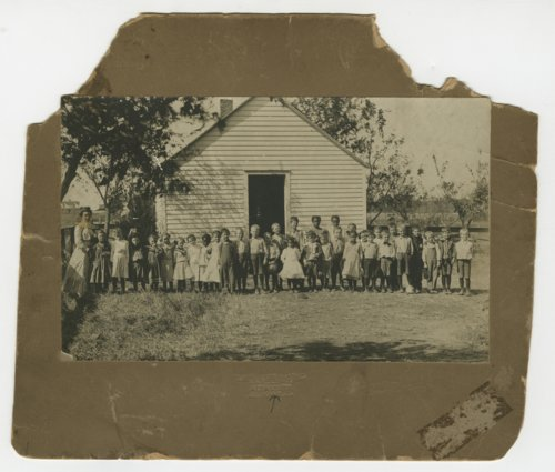Students and teacher at a school in Maple Hill, Kansas - Page
