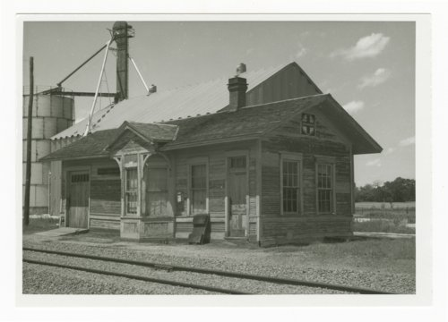 Atchison, Topeka and Santa Fe Railway Company, depot, Oak Hill, Kansas - Page