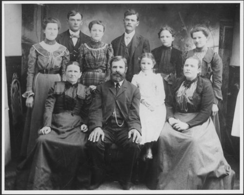 Johann Jakob and Fredricka Schwarz's family - Page