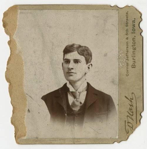 Dr. Clarence H. Kinnaman as a young man - Page