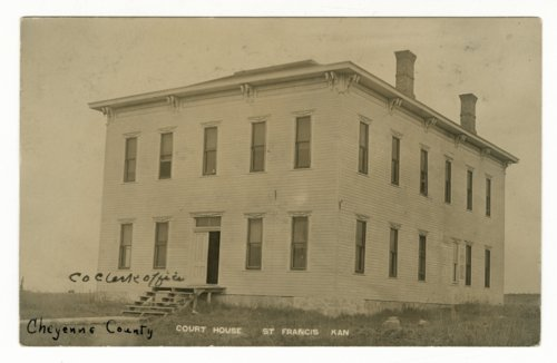 Courthouse in St. Francis, Cheyenne County, Kansas - Page