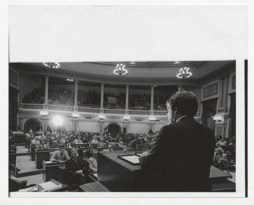 Governor John Carlin delivering his State of the State Address - Page