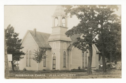 Presbyterian Church in Pleasanton, Kansas - Page