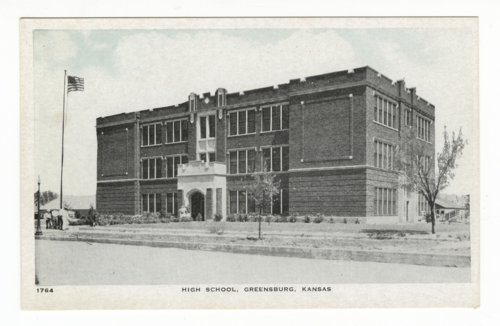 High school in Greensburg, Kansas - Page