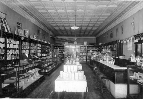 Preston Dunn drug store in Eskridge, Kansas - Page