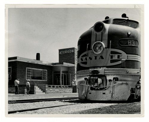 Atchison, Topeka & Santa Fe Railway Company depot, Atchison, Kkansas - Page