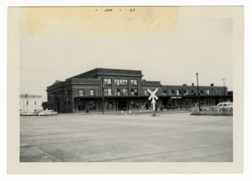 Missouri, Kansas & Texas Railroad station in Denison, Texas - Page