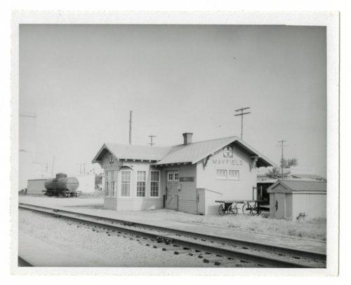 Atchison, Topeka & Santa Fe Railway Company depot, Mayfield, Kansas. - Page