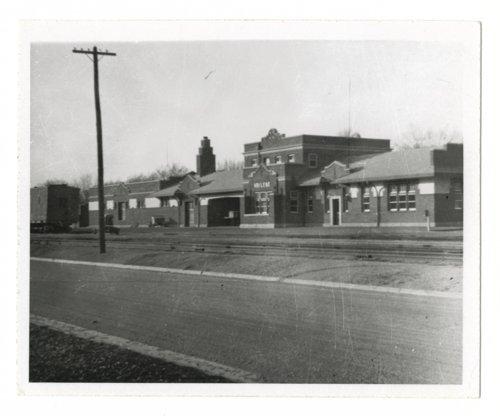 Atchison, Topeka and Santa Fe Railway Company depot, Abilene, Kansas - Page