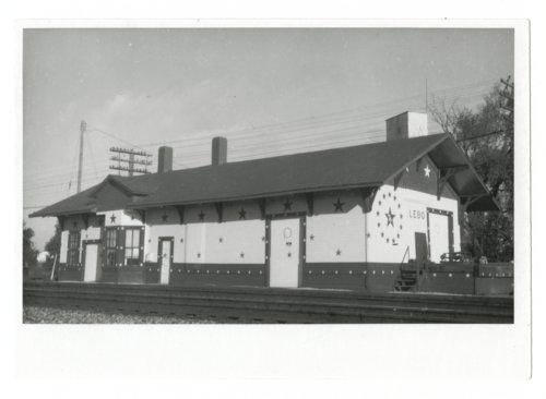 Atchison, Topeka and Santa Fe Railway Company depot, Lebo, Kansas - Page
