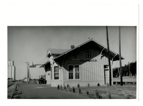 Atchison, Topeka and Santa Fe Railway Company depot, Coldwater, Kansas - Page