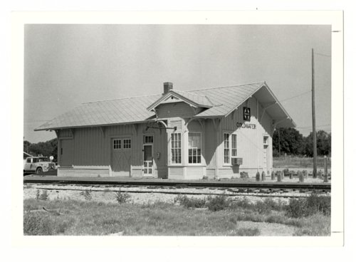 Atchison, Topeka & Santa Fe Railway Company depot, Coldwater, Kansas - Page