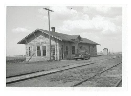 Atchison, Topeka & Santa Fe Railway Company depot, Galatia, Kansas - Page