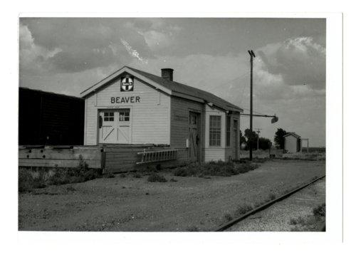 Atchison, Topeka and Santa Fe Railway Company depot, Beaver, Kansas - Page