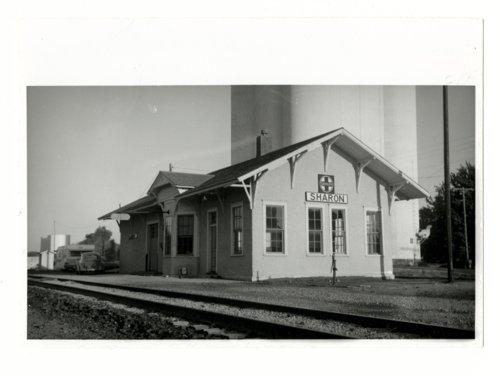 Atchison, Topeka & Santa Fe Railway Company depot, Sharon, Kansas - Page