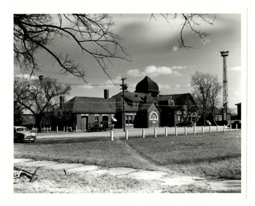 Atchison, Topeka and Santa Fe Railway Company depot, Arkansas City, Kansas. - Page