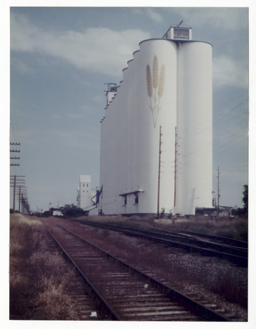 Grain elevator in Pauline, Kansas - Page