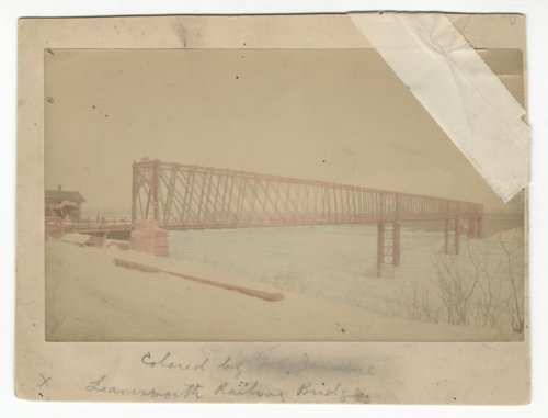 Kansas and Missouri bridge at Fort Leavenworth, Kansas - Page