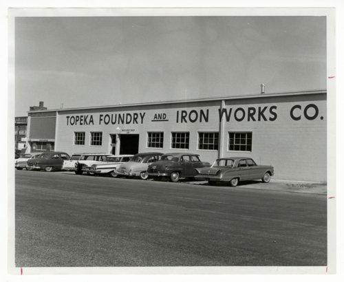 Topeka Foundry & Iron Works Company, Topeka, Kansas - Page