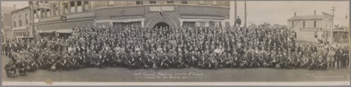 Anti Horse Thief Association meeting, Chanute, Kansas - Page