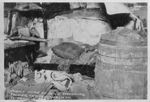 Interior view of hermit home, St. Francis, Cheyenne County, Kansas - Page