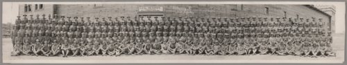 Company D, 353rd Infantry at Camp Funston, Kansas - Page