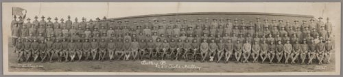 Battery B, 28th Field Artillery at Fort Riley, Kansas - Page